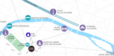 Hotel tour eiffel Paris reservation map